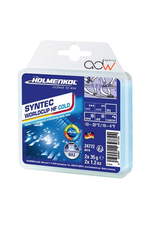 HOLMENKOL FLUOR WAX SYNTEC WORLDCUP HF – COLD. 150 gr.